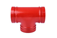 Fire Protection Pipe Fitting flange Stock Images