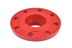 Fire Protection Pipe Fitting flange Royalty Free Stock Photo