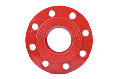 Fire Protection Pipe Fitting flange Royalty Free Stock Photos