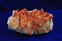 Fire quartz Stock Images
