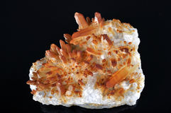 Fire Quartz Stock Photography