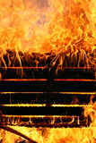 Fire rage. Out of control fire, texture, backgrounds, design elements series Royalty Free Stock Photo