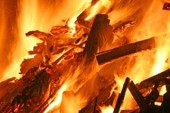 Fire rage Stock Photo