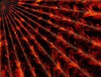 Fire rays backgrounds. Abstract fire rays backgrounds texture Royalty Free Stock Photo