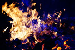 Fire. Red hot beautiful fire wallpaper Royalty Free Stock Images