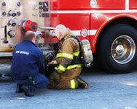 Fire and Rescue Royalty Free Stock Photos