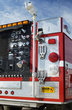 Fire & Rescue. Fire department vehicle Royalty Free Stock Photos