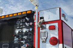 Fire & Rescue. Fire department vehicle Royalty Free Stock Photo