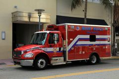 Fire and Rescue Ambulance Stock Image
