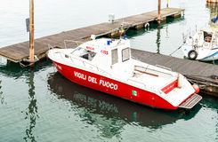 Fire Rescue boat. Stock Photography
