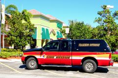 Fire rescue, Florida (side view) Royalty Free Stock Images