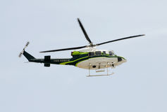 Fire rescue helicopter Royalty Free Stock Images