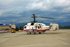 Fire and rescue helicopter Ka-32A Stock Photography
