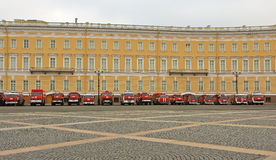 Fire & Rescue Saint-Petersburg, Russia Royalty Free Stock Photography