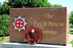 Fire and Rescue Service Memorial, Alrewas. Stock Image