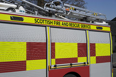Fire and rescue service - Scotland Royalty Free Stock Photos