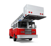 Fire Rescue Truck Royalty Free Stock Images
