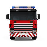 Fire Rescue Truck. Isolated on white background. 3D render Stock Images