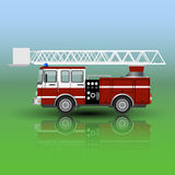 Fire Rescue Truck . Vector illustration Stock Photo