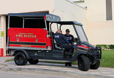 Fire Rescue Vehicle Stock Image