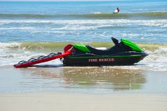 Fire Rescue watercraft Stock Photography