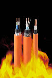 Fire Resistant Cables Royalty Free Stock Photo