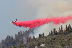 Fire retardant drop Stock Photos
