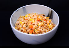 Fire rice with Japanese style Stock Images