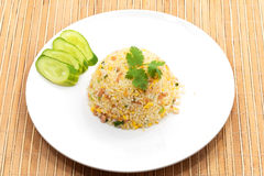 Fire rice Royalty Free Stock Photo