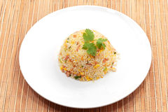 Fire rice Stock Images
