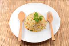 Fire rice Royalty Free Stock Images