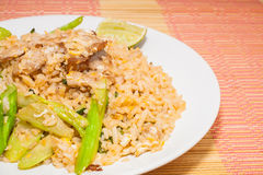 Fire rice with thai style Stock Images
