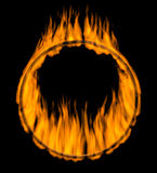 Fire ring Stock Images