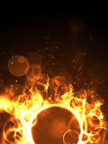 Fire ring Royalty Free Stock Photos