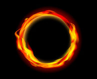 Fire ring  Stock Photography