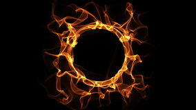 Fire Ring loop animation HD720