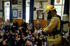 Fire Safety Education day stock photography