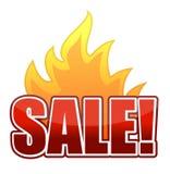 Fire Sale text illustration. Design Stock Photos