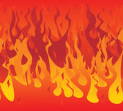 Fire seamless. Vector illustration fire. seamless background Stock Image
