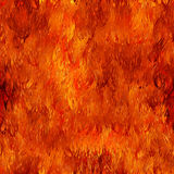 Fire seamless background Royalty Free Stock Photography