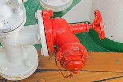 Fire security crane Stock Image