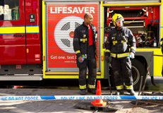 Fire service. Royalty Free Stock Image