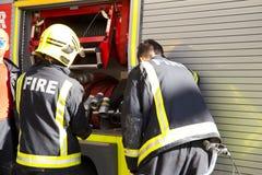 Fire service. Stock Photos