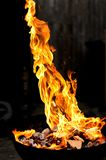 Fire shapes. Fire in variaty of shapes Royalty Free Stock Image