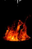 Fire shapes Royalty Free Stock Photos