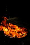 Fire shapes. Fire in variaty of shapes Royalty Free Stock Photos