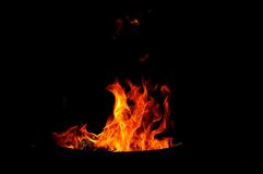 Fire shapes. Fire in variaty of shapes Royalty Free Stock Images