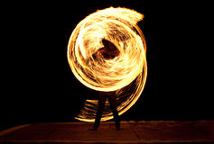 Fire Show Stock Photography