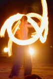 Fire-show Royalty Free Stock Photos