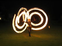 Fire-show Royalty Free Stock Photography